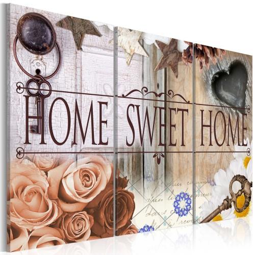 Quadro - Home in vintage style - Quadri e decorazioni