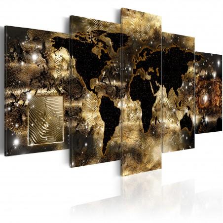 Quadro - Continenti del bronzo - Quadri e decorazioni