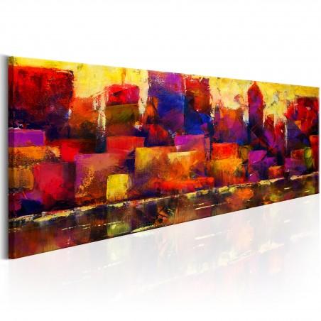 Quadro - Colourful City Skyline - Quadri e decorazioni