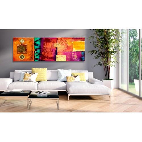 Quadro - Orange Abstraction - Quadri e decorazioni