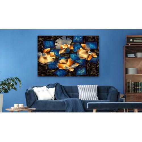 Quadro - Geometrical Flowers - Quadri e decorazioni