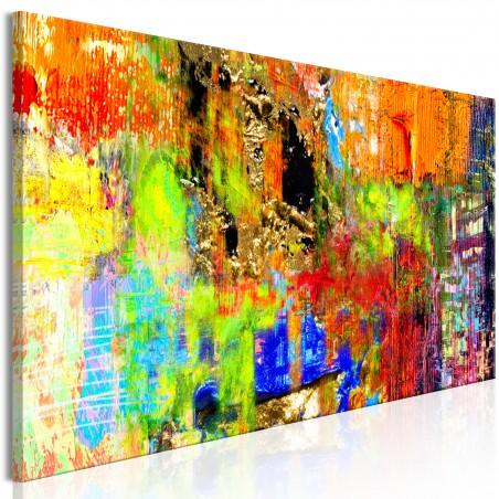 Quadro - Colourful Abstraction (1 Part) Narrow - Quadri e decorazioni