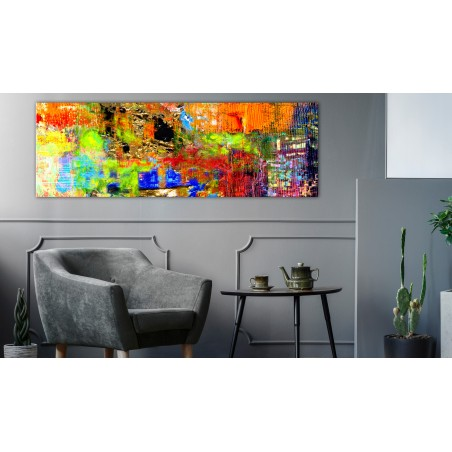 Quadro - Colourful Abstraction (1 Part) Narrow - Quadri e decorazioni
