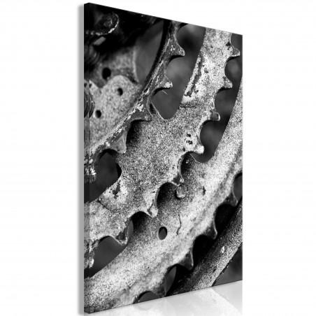 Quadro - Gears (1 Part) Vertical - Quadri e decorazioni