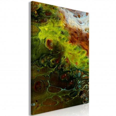 Quadro - Green Elements (1 Part) Vertical - Quadri e decorazioni