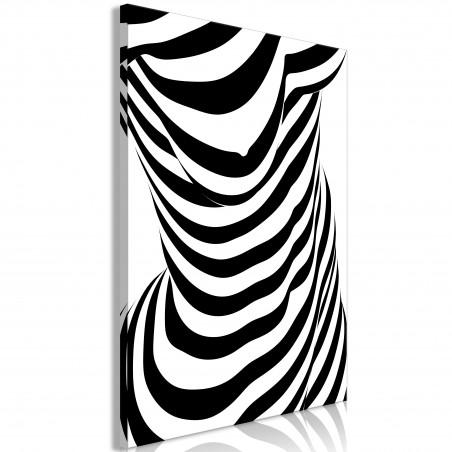 Quadro - Zebra Woman (1 Part) Vertical - Quadri e decorazioni