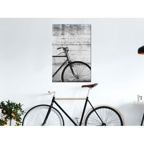 Quadro - Bicycle And Concrete (1 Part) Vertical - Quadri e decorazioni