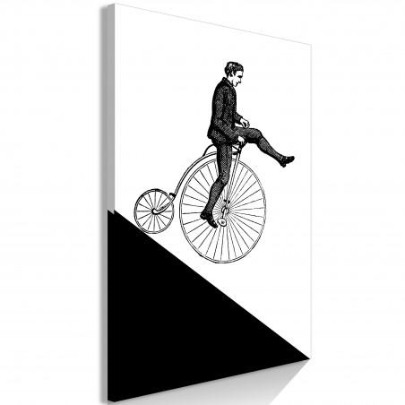 Quadro - Cyclist (1 Part) Vertical - Quadri e decorazioni