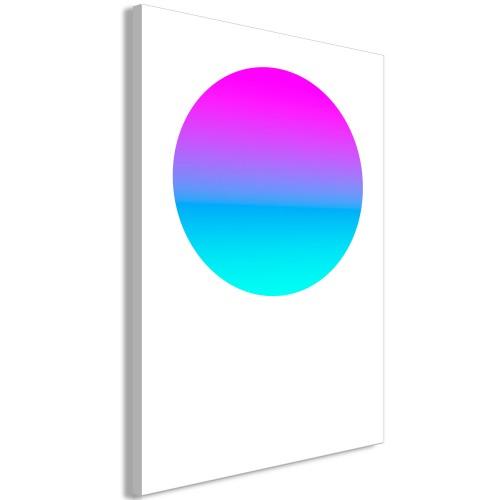 Quadro - Colourful Circle (1 Part) Vertical - Quadri e decorazioni