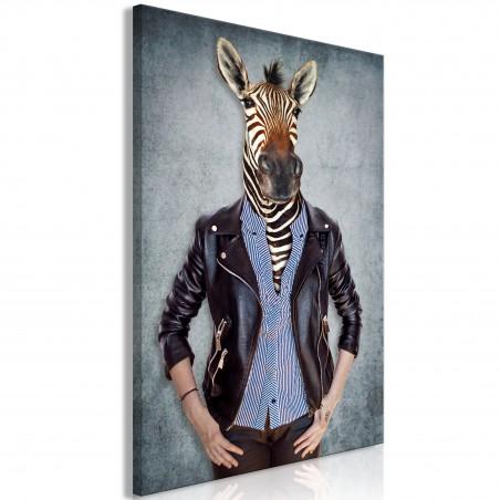 Quadro - Zebra Ewa (1 Part) Vertical - Quadri e decorazioni