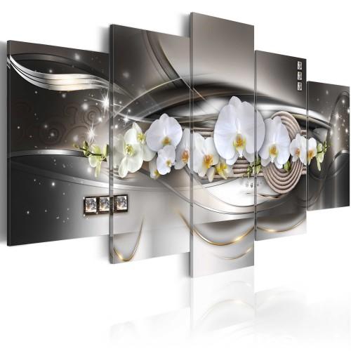 Quadro - Orchidee d'acciaio - Quadri e decorazioni