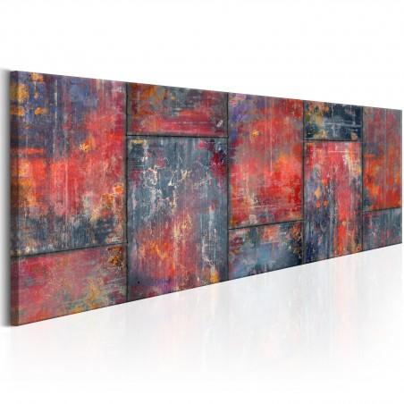 Quadro - Metal Mosaic: Red - Quadri e decorazioni