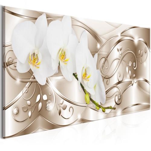 Quadro - Flowering (1 Part) Narrow Beige - Quadri e decorazioni