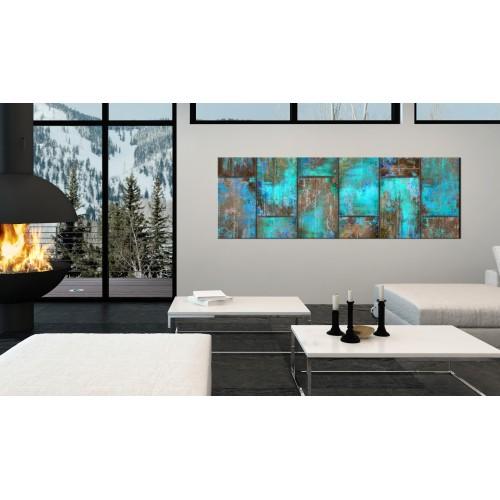 Quadro - Metal Mosaic: Blue - Quadri e decorazioni