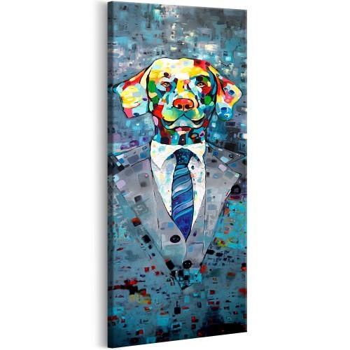 Quadro - Dog in a Suit - Quadri e decorazioni