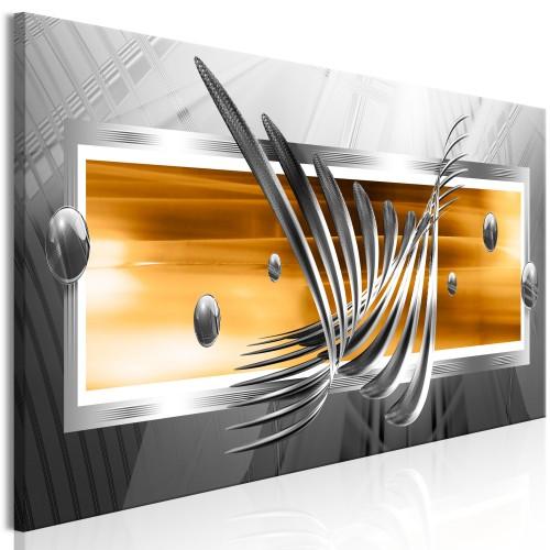 Quadro - Silver Wings (1 Part) Narrow Orange - Quadri e decorazioni