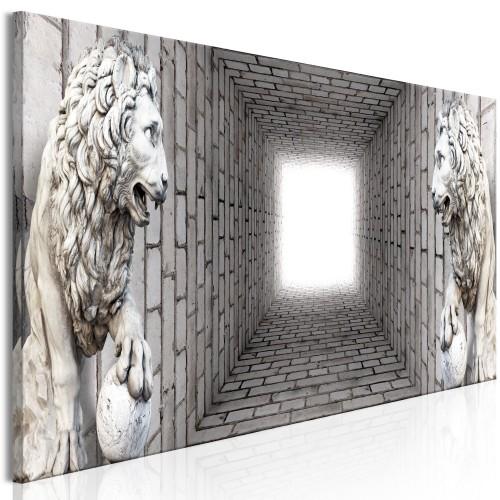 Quadro - Light in the Tunnel (1 Part) Narrow - Quadri e decorazioni