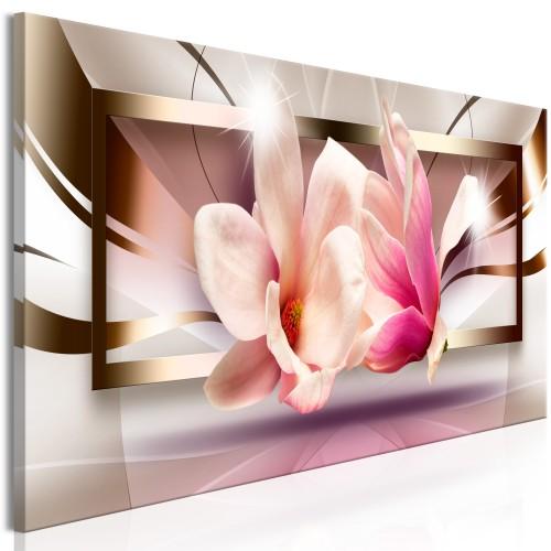 Quadro - Flowers outside the Frame (1 Part) Narrow - Quadri e decorazioni