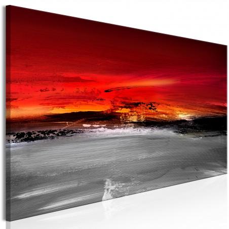 Quadro - Crimson Landscape (1 Part) Narrow - Quadri e decorazioni