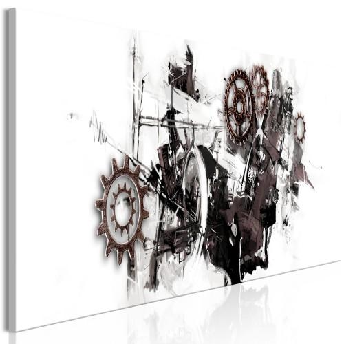 Quadro - Complicated Machine (1 Part) Narrow - Quadri e decorazioni