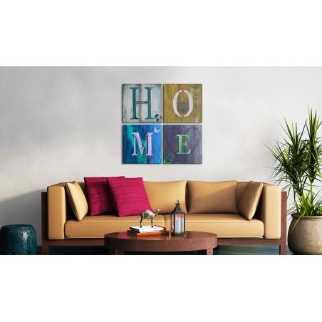 Quadro - Fai conto di essere a casa tua - Quadri e decorazioni