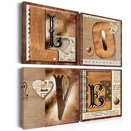 Quadro - Libro dell'amore - Quadri e decorazioni