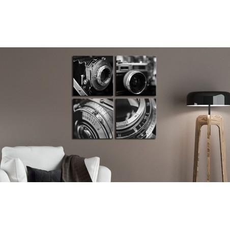Quadro - Vintage Cameras - Quadri e decorazioni