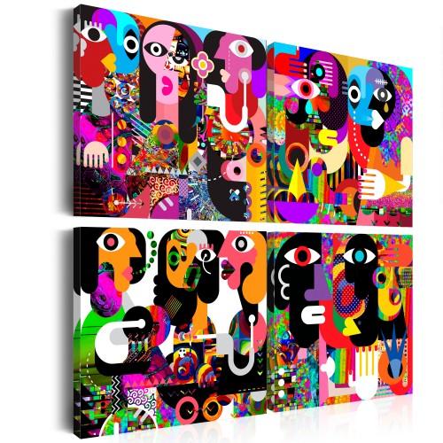 Quadro - Abstract Conversations - Quadri e decorazioni