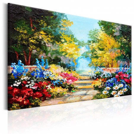 Quadro - The Flowers Alley - Quadri e decorazioni