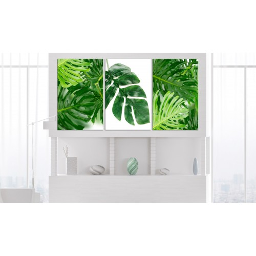 Quadro - Palm Leaves (3 Parts) - Quadri e decorazioni