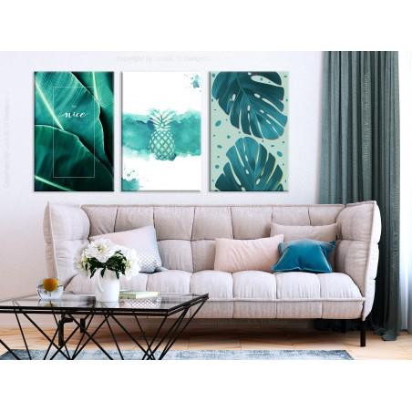 Quadro - Intense Lagoon (3 Parts) - Quadri e decorazioni