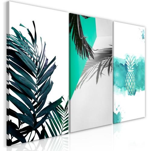 Quadro - Palm Paradise (3 Parts) - Quadri e decorazioni