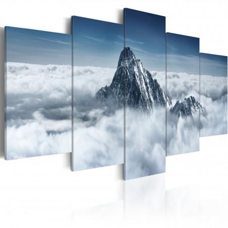 Quadro - Cima di una montagna sopra le nuvole - Quadri e decorazioni