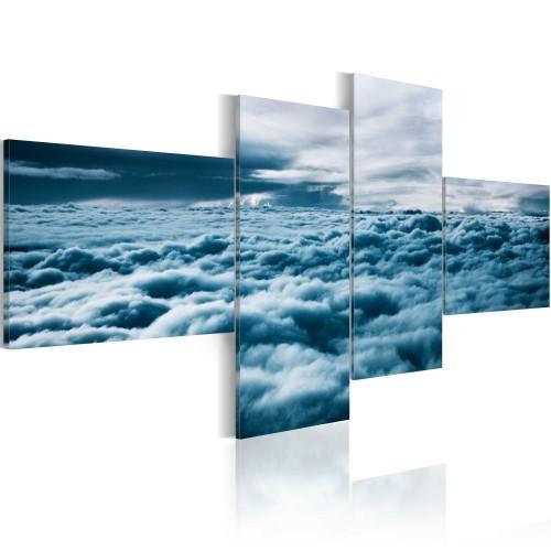 Quadro - Con la testa tra le nuvole - Quadri e decorazioni