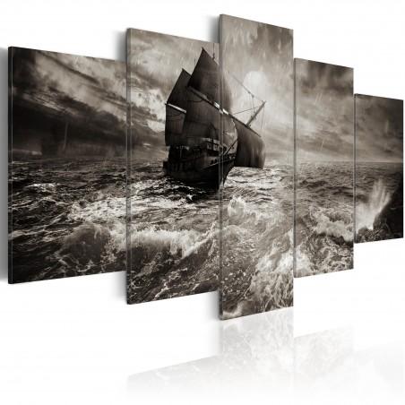 Quadro - Nave durante una tempesta - Quadri e decorazioni