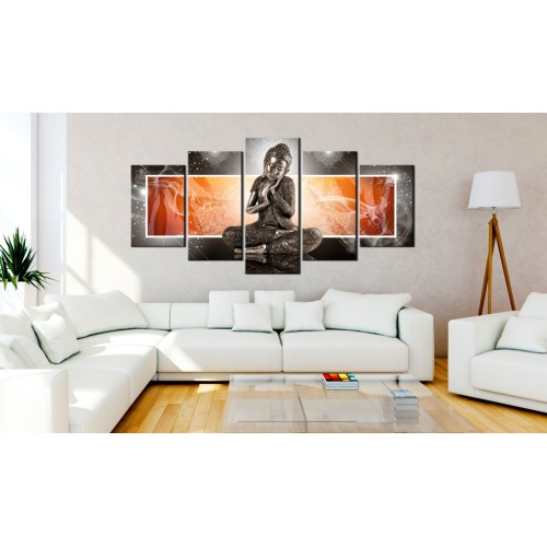 Quadro - Buddha and ornaments - Quadri e decorazioni