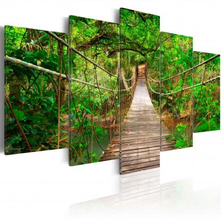 Quadro - Passeggiata tra gli alberi - Quadri e decorazioni