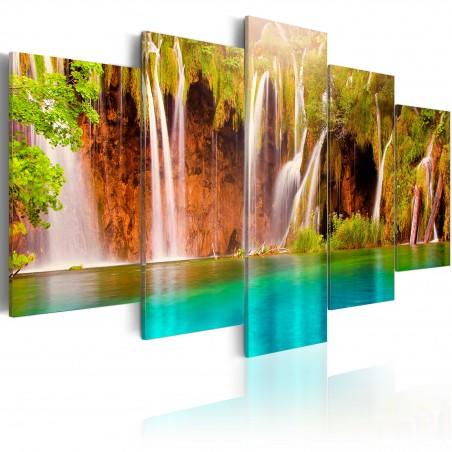 Quadro - Cascata forestale - Quadri e decorazioni