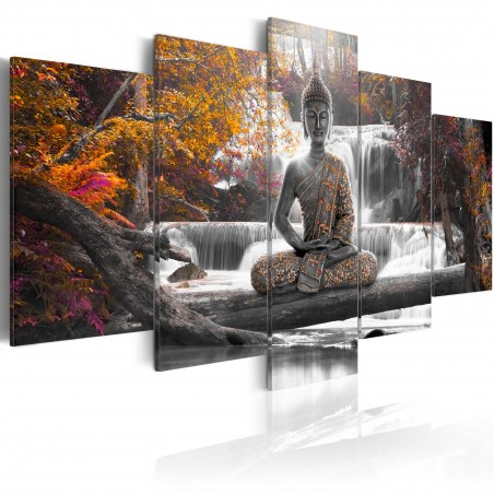 Quadro - Buddha autunnale - Quadri e decorazioni