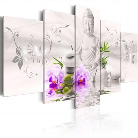 Quadro - Buddha bianco - Quadri e decorazioni