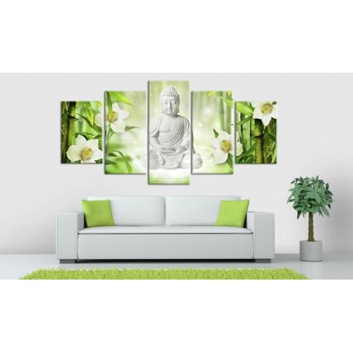 Quadro - Buddha e gelsomino - Quadri e decorazioni