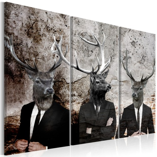 Quadro - Deer in Suits I - Quadri e decorazioni