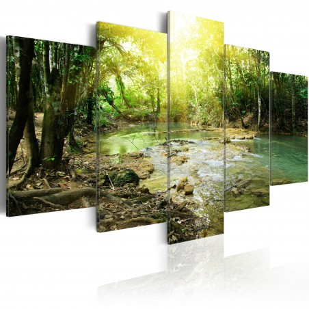 Quadro - Fiume della foresta - Quadri e decorazioni