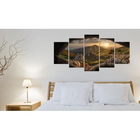 Quadro - Tramonto nella valle - Quadri e decorazioni