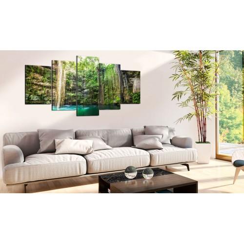 Quadro - Cascata di alberi - Quadri e decorazioni