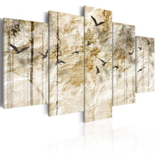 Quadro - Il bosco di carta - Quadri e decorazioni