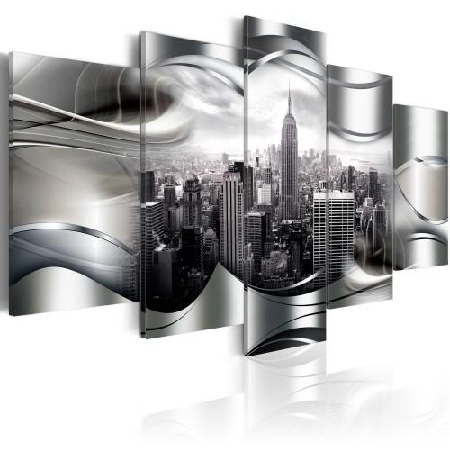 Quadro - New York di platino - Quadri e decorazioni