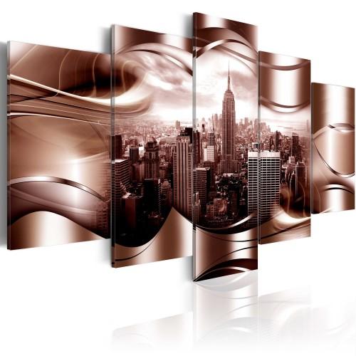 Quadro - New York borgogna - Quadri e decorazioni
