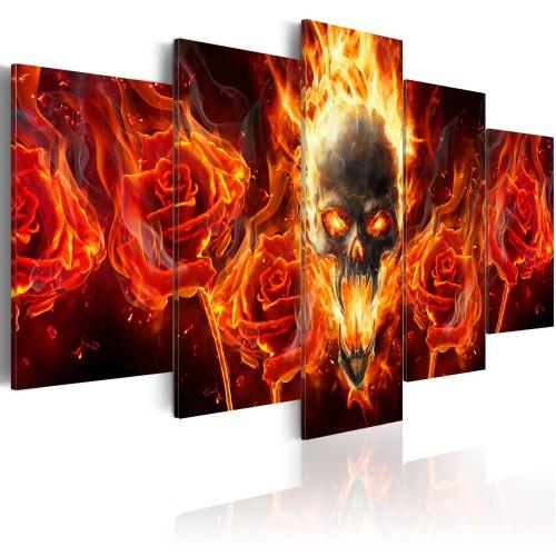 Quadro - Cranio ardente - Quadri e decorazioni