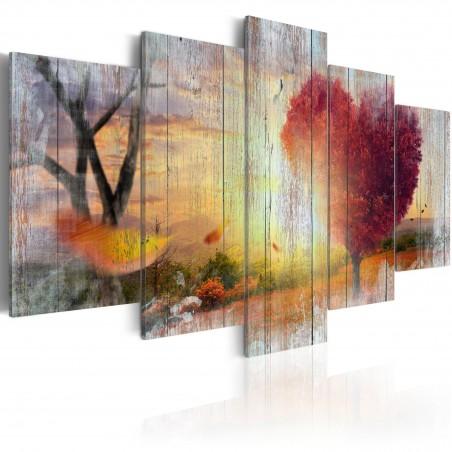 Quadro - Lovers' Autumn - Quadri e decorazioni